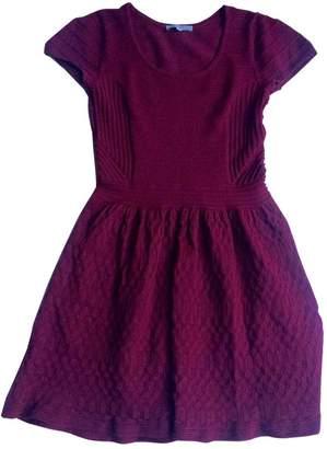 Sandro Red Cotton Dresses