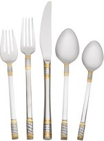 Mikasa Wallace® Gold Accent Corsica 65 Piece Flatware Set, Service for 12