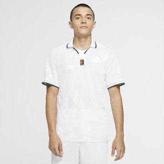 Nike Men's Tennis Polo NikeCourt Breathe Slam