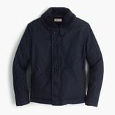 J.Crew Wallace & Barnes sherpa-lined N-1 jacket
