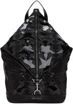 Jimmy Choo Black Fitzroy Stars Backpack