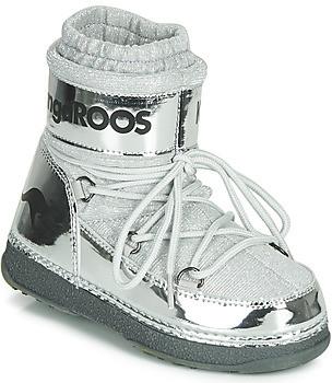 KangaROOS K-MOON women's Snow boots in Silver