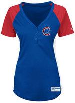 Profile Women's Chicago Cubs League Diva Plus Size T-Shirt