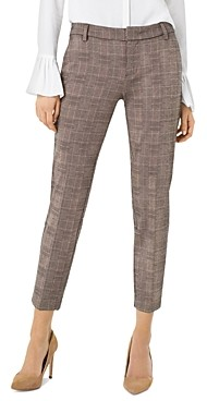 Liverpool Los Angeles Liverpool Kelsey Glen Plaid Straight-Leg Pants