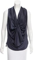 Zero Maria Cornejo Draped Sleeveless Top