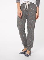 Tu clothing Grey Jersey Star Print Pyjama Trousers