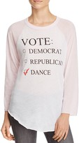Wildfox Couture Dance Party Baseball Tee