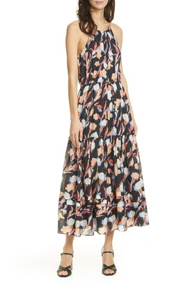 Joie Huston Cotton & Silk Halter Sundress