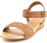 Eric Michael Tally Lexi Women Open Toe Leather Wedge Sandal.