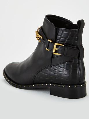 Kurt Geiger London Chelsea Jodhpur Ankle Boots - Black