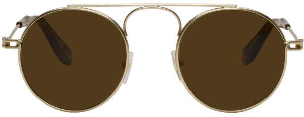 Givenchy Gold GV 7054 Sunglasses