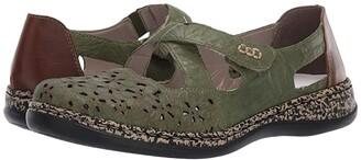 Rieker 463H4-52 (Efeu/Mogano) Women's Shoes