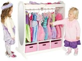 The Well Appointed House Guidecraft Child's Dress Up Storage Center in White