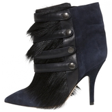 Isabel Marant Navy Suede Ankle boots