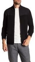 Autumn Cashmere Jacquard Stitch Dual Zip Jacket