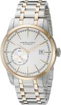 Hamilton Men's H40525151 American Classic Railroad Analog Display Swiss Automatic Two Tone Watch