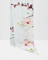 Ted Baker Oriental Blossom skinny scarf