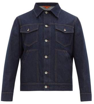 Barena Venezia - Calico Denim Jacket - Mens - Navy