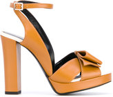 Lanvin strappy sandals - women - Calf Leather/Leather - 35