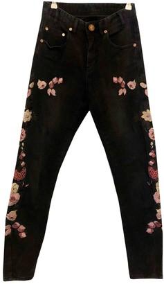One Teaspoon Black Cotton - elasthane Jeans for Women