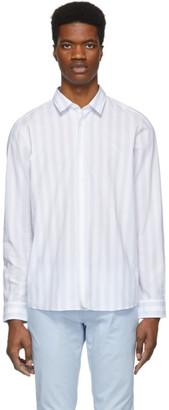 HUGO White and Grey Emorino Shirt