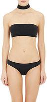 Onia Women's Laura Bandeau Bikini Top-BLACK