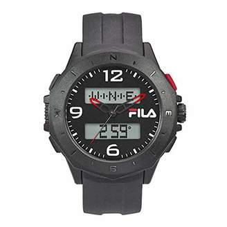 Fila Unisex Adult Digital Quartz Watch with PU Strap FILA38-150-002