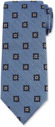Ermenegildo Zegna Men's Star Medallion Silk Tie