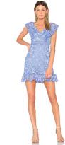 Aijek Marianna Ruffled Dress