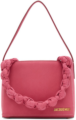 Jacquemus Pink Le Sac Noeud Tote