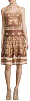 M Missoni Lurex®; Embroidered Jacquard Dress