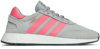 adidas I-5923 Suede-trimmed Stretch-knit Sneakers