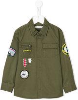 Stella McCartney badges military shirt