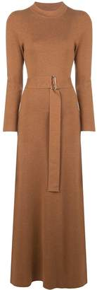 Nicholas belted knitted dress
