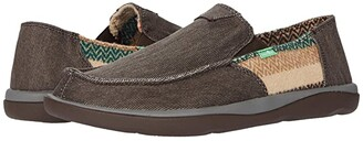 Sanuk Vagabond Tripper Mixer (Brown Chevron) Men's Shoes