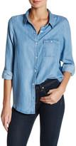 Soft Joie Onyx Button-Up Chambray Shirt