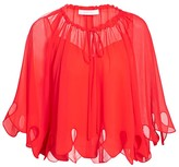 See by Chloe Batwing Eyelet Blouse