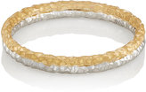 Malcolm Betts Women's Double-Band Ring-GOLD
