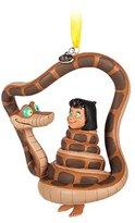 Disney Jungle Book Mowgli and Kaa Ornament