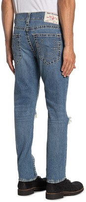 True Religion Rocco Big T Ripped Skinny Jeans