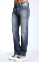 Mavi Jeans Zach Straight Leg In Shaded Brushed Williamsburg