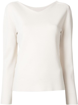 TOMORROWLAND V-Neck Long-Sleeved Jumper