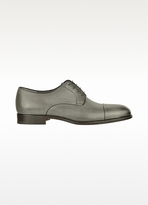 Fratelli Rossetti Stone Grey Nappa Leather Derby Shoe