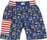 Playshoes Boy's Swimming Pirate Island Swim Shorts