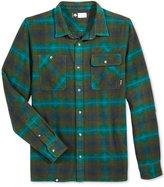 Lrg Men's Shadow Plaid Shirt