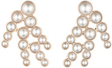 Lulu Frost Pearl Spray Earring - White