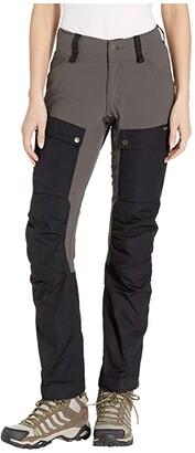 Fjallraven Keb Trousers Curved (Dark Garnet/Plum) Women's Outerwear