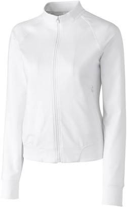 Cutter & Buck Women's Moisture Wicking UPF 50+ Long-Sleeve Brook Bomber Jacket