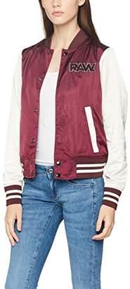 G Star Women's Sport Snap Slim Wmn Bomber Jacket,Small