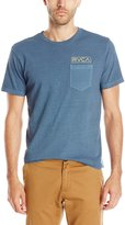 RVCA Men's Stamp Label Pocket T-Shirt
